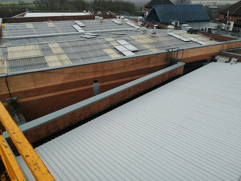Overcladding Empire High Wycombe whole site