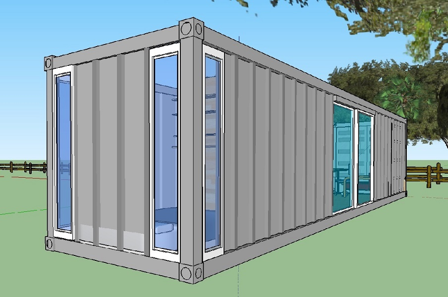 temporary building illustration